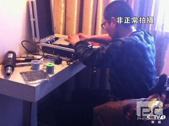 """央视315曝光第一案 """"短信车""""大揭密"""
